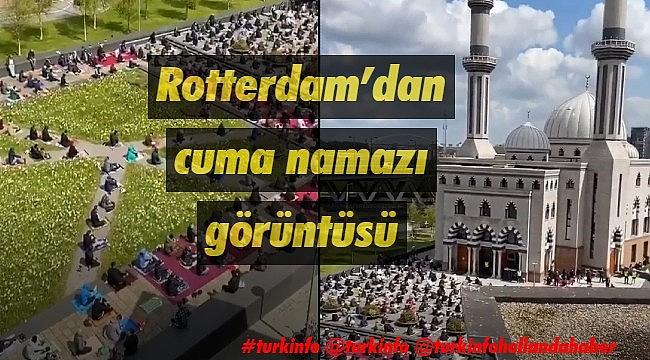 Hollanda'dacuma namazında camiler doldu taştı