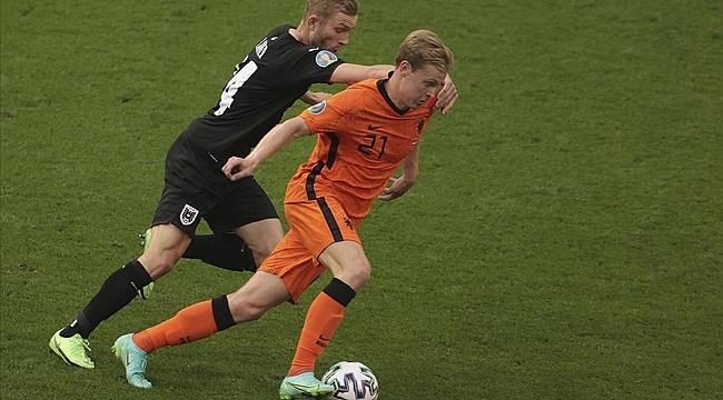 EURO 2020' de C Grubu'nda Hollanda, Avusturya'yı 2-0 yendi