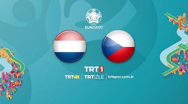 Hollanda - Çekya maçı saat 18.00'de TRT1'de