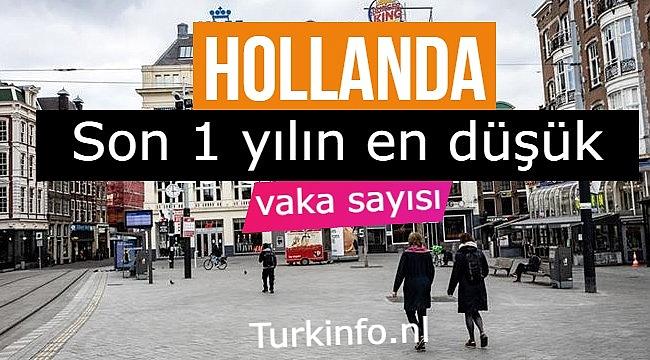 Hollanda'da Kovid-19 günlük vaka sayısı binin altına düştü
