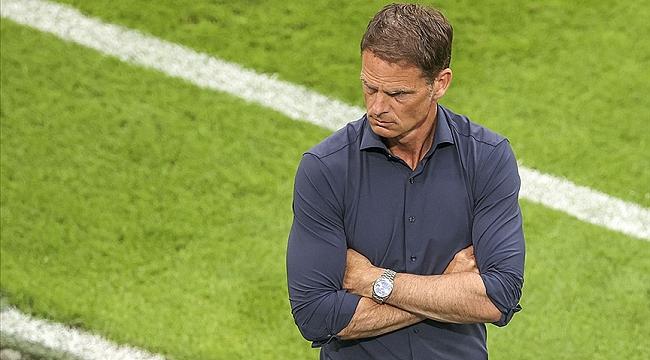 Hollanda Milli Takımı'nda teknik direktör Frank de Boer ile yollar ayrıldı