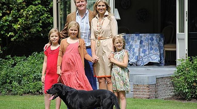 Hollanda Prensesi milyonluk devlet ödeneğinden vazgeçti