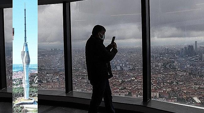 İstanbul'un yeni simgesi Çamlıca Kulesi, kapılarını ziyaretçilere açtı