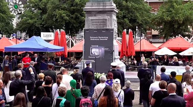 Hollanda'da Srebrenitsa kurbanları soykırımın 26'ncı yılında anıldı