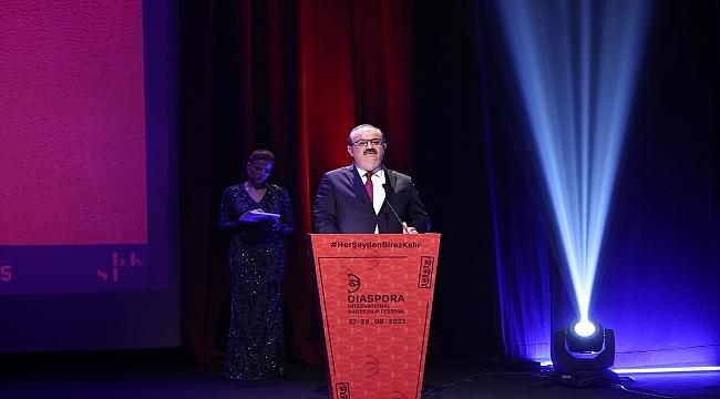Diaspora Uluslararası Kısa Film Festivali'nin kapanış ve ödül töreni yapıldı