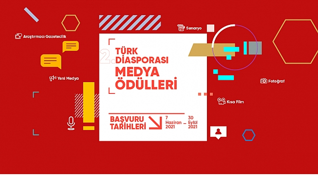 Türk Diasporası Medya Ödülleri yarışmasına başvurular devan ediyor