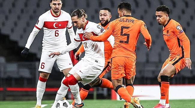 A Milli Futbol Takımı Dünya Kupası Elemeleri'nde Hollanda karşısında