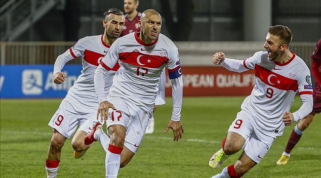 A Milli Takım 90+9. dakikada gelen golle Dünya Kupası umutlarını sürdürdü