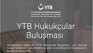 YTB dünyanın dört bir yanındaki hukukçuları Strazburg'da buluşturuyor