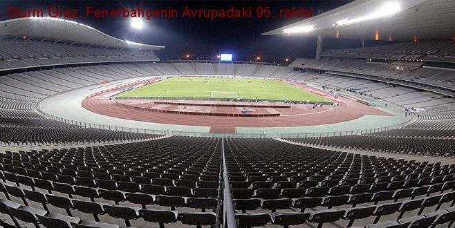 Sturm Graz, Fenerbahçe'nin Avrupa'daki 95. rakibi