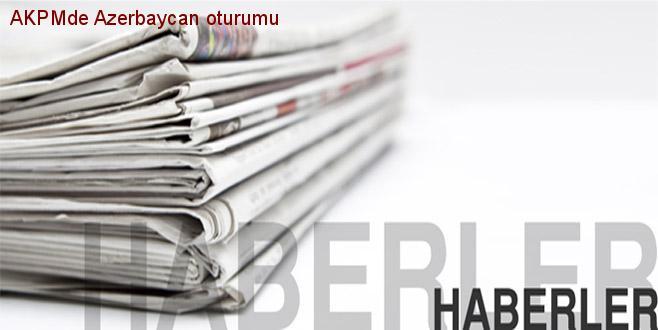 AKPM'de Azerbaycan oturumu