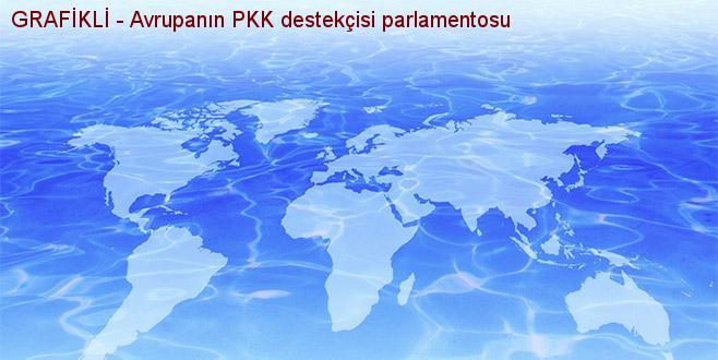 GRAFİKLİ - Avrupa'nın PKK destekçisi parlamentosu