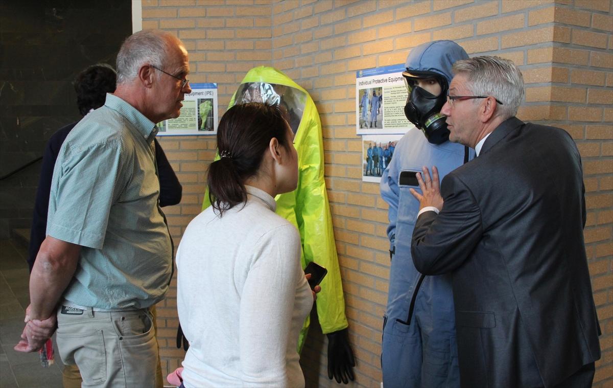 Hollanda'da OPCW Açık Günü etkinliği