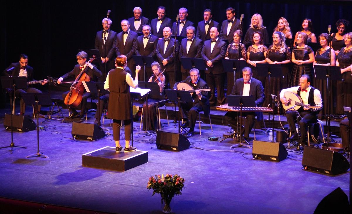 Hollandada Türk klasik müziği konseri