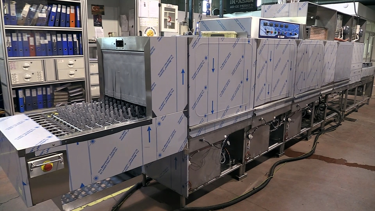 Dünyanın bulaşığını yıkayan bulaşık makineleri ihraç ediyorlar