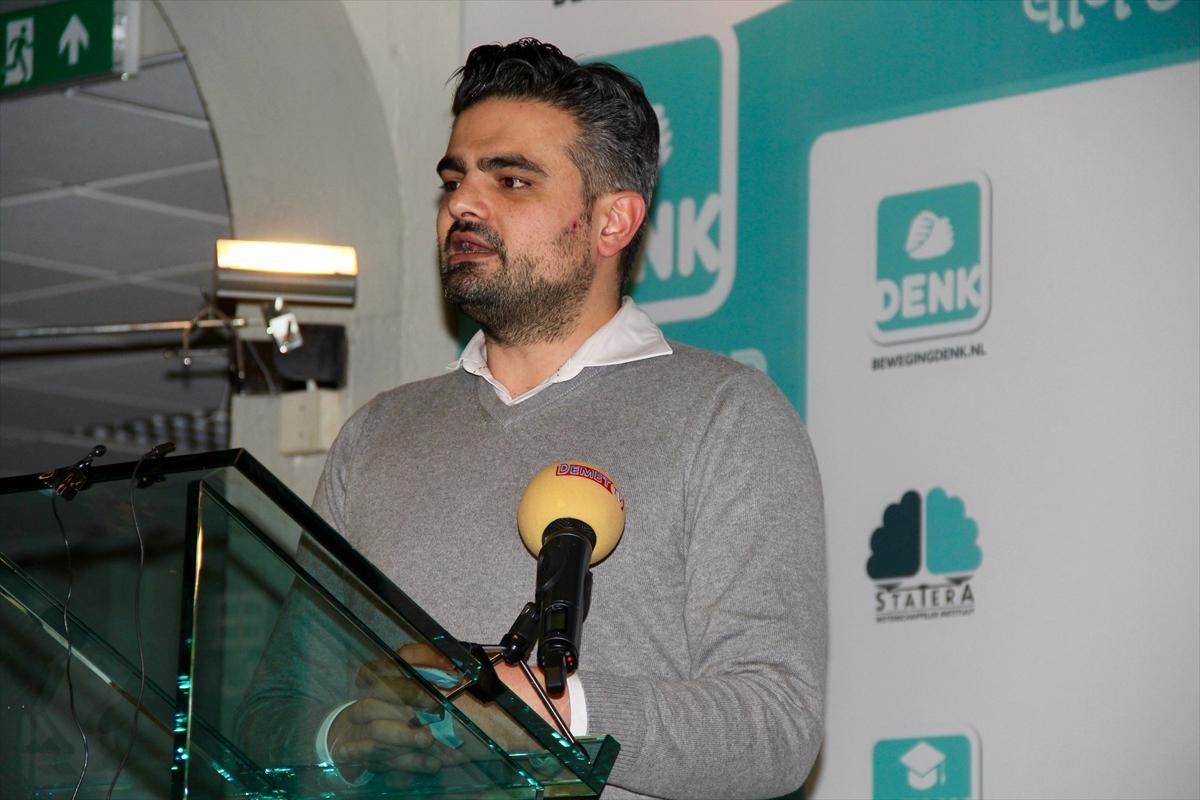 Hollandada Türklerin kurduğu partiden basın toplantısı