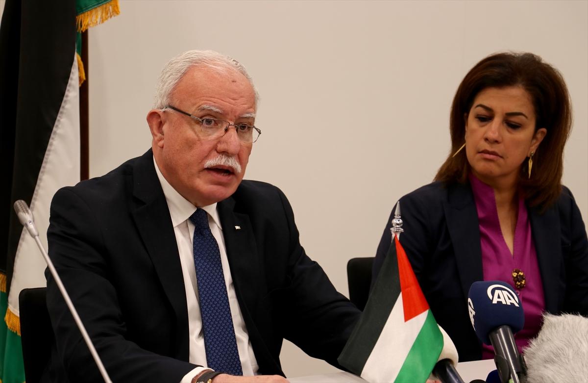 Filistin hükümeti İsrailin katliamlarıyla ilgili dosyayı UCMye teslim etti