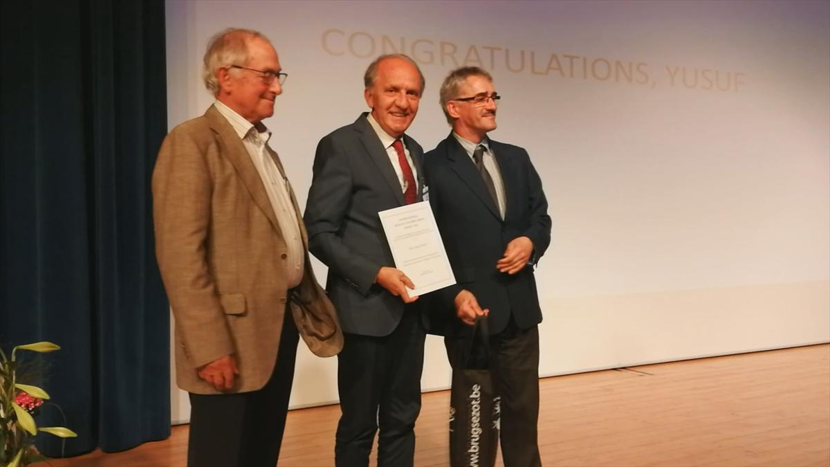 İTÜ öğretim üyesi profesöre Belçikadan ödül