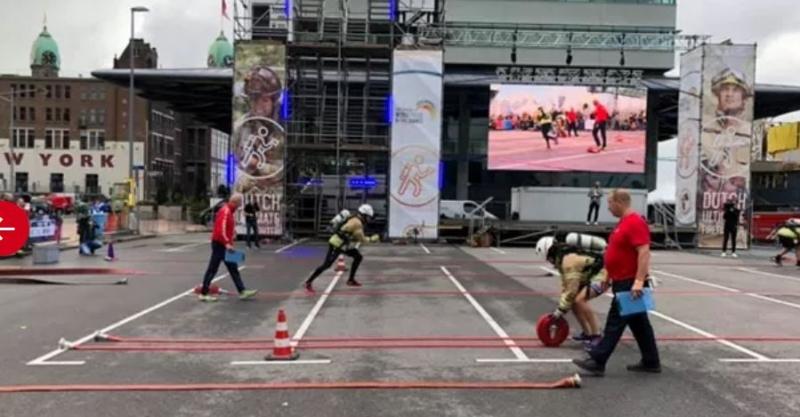 Ahmet Koç Hollandanın en iyi itfaiyecisi oldu