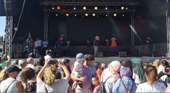 Avrupa Spor ve Kültür Festivali coşkuyla başladı
