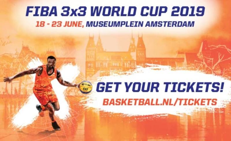 Basketbol Milli Takımımız Hollandaya geliyor, 18-23 Haziran Amsterdam