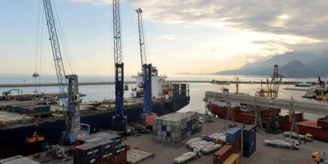 Batı Akdenizden ihracat 1 milyar doları aştı