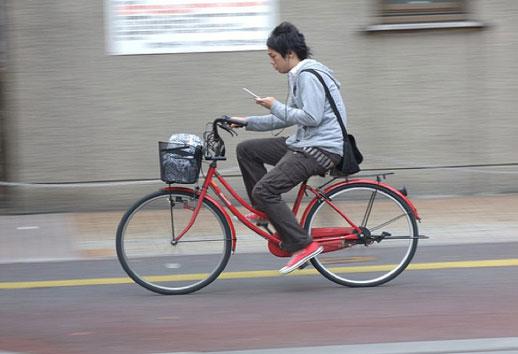 Bisiklet Kullanırken Cep Telefonu Kullanma Yasağı geliyor
