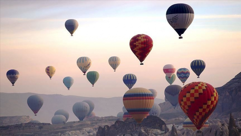Cappadocië, Turkije organiseert 1e heteluchtballonfestival