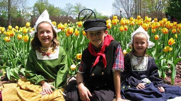 De gelukkigste kinderen van de wereld in Nederland