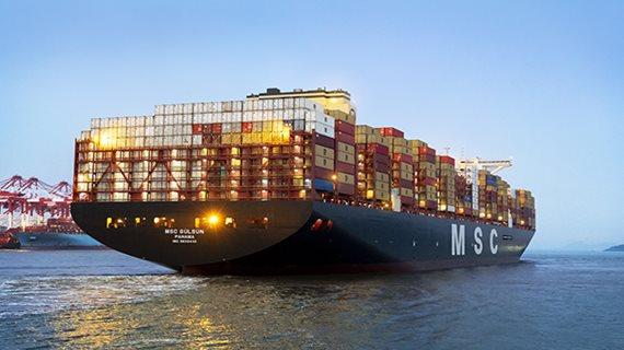 Dünyanın en büyük konteyner gemisi MSC GÜLSÜN Rotterdam'a geliyor