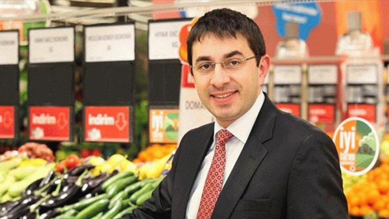 Eerste Turk die een sector vertegenwoordigd van 3.5 triljoen Euro