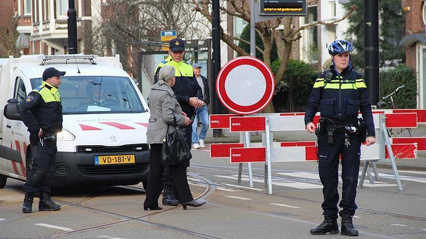 Hollanda'da polis düğün konvoyunu durdurdu ve araçlara el koydu