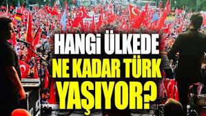 En Çok Türk Nerede yaşıyor? Türklerin Yaşadığı Ülkeler 2019