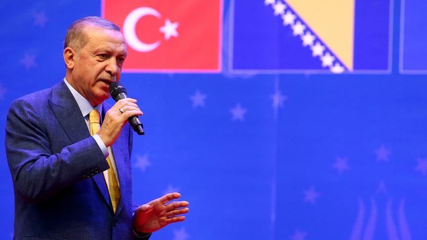 Erdoğan'dan Avrupalı Türklere müjde
