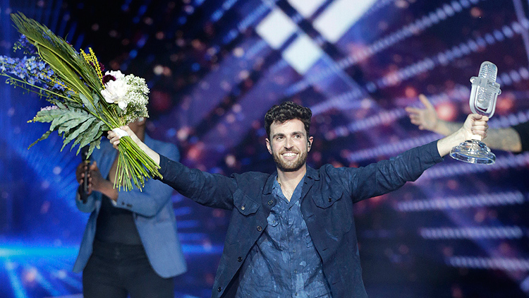 Eurovision'u Hollanda kazandı