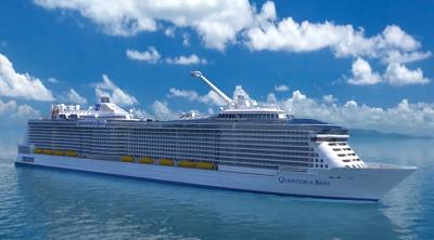 Grootste cruiseschip van de wereld Ovation of the Seas naar Rotterdam