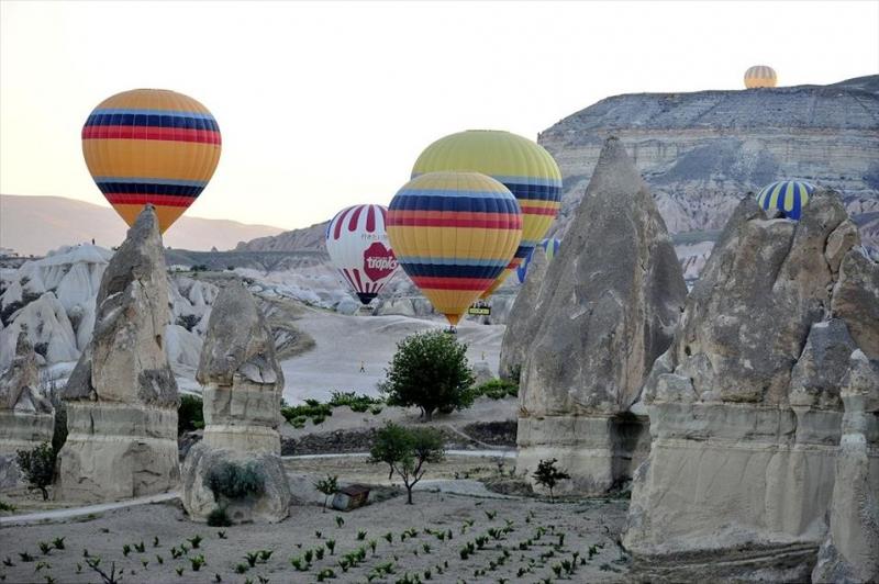 Historisch record aantal toeristen Capadocie