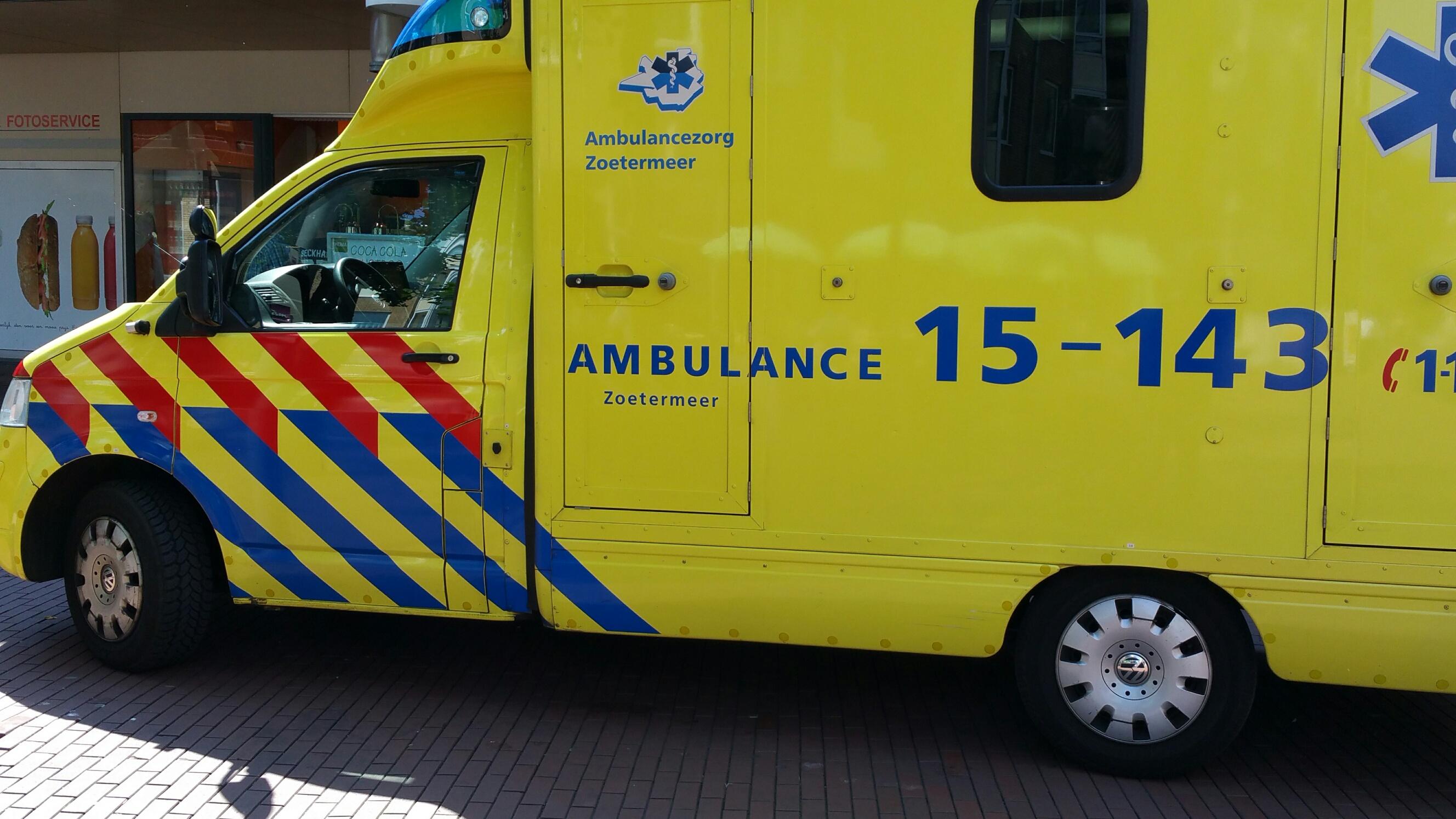 Hollanda'da Ambulanslar  acil durumlarda çoğu zaman zamanında gelmiyor