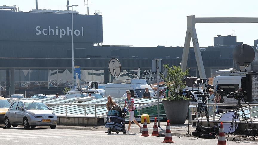 Hollanda'da Havada yolcu sayısı 2017'de 76 milyonu aştı