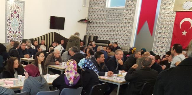 Hollanda'da  İkinci geleneksel Sivas Hingel etkinliği düzenlendi