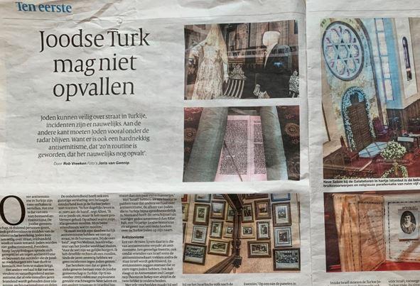 Hollanda gazetesinden Ne şiş yansın ne de kebap röportajı