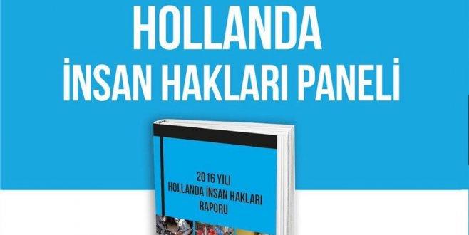 Hollanda İnsan Hakları Raporu açıklandı