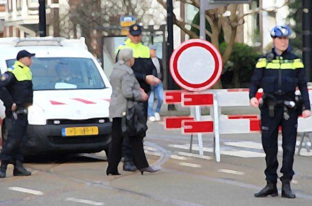 Hollanda'da korna çalan düğün konvoyuna müdahale eden polis tartaklandı