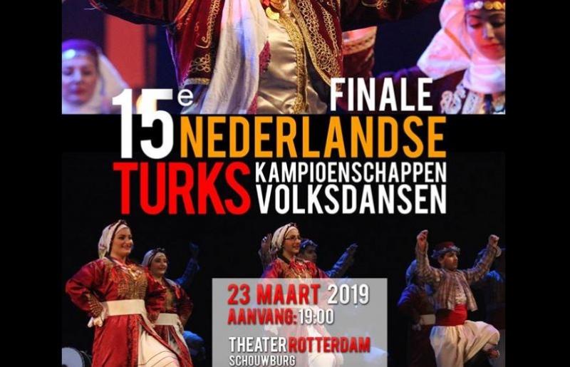Hollanda Türk Halk Oyunları Yarışması 23 Mart'ta 15. Kez Sahne Alıyor