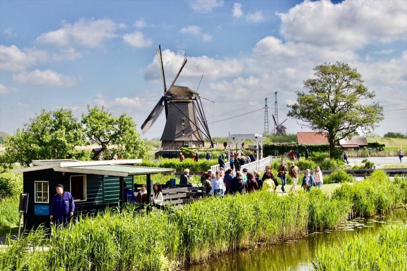 Hollanda'da 47. Ulusal Değirmen Günü - Kinderdijk