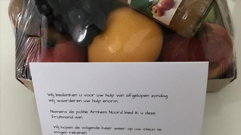 Hollanda'da bir Türk polislere yardım ederek hayat kurtardı