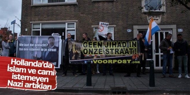 Hollandada İslam karşıtı gösteri