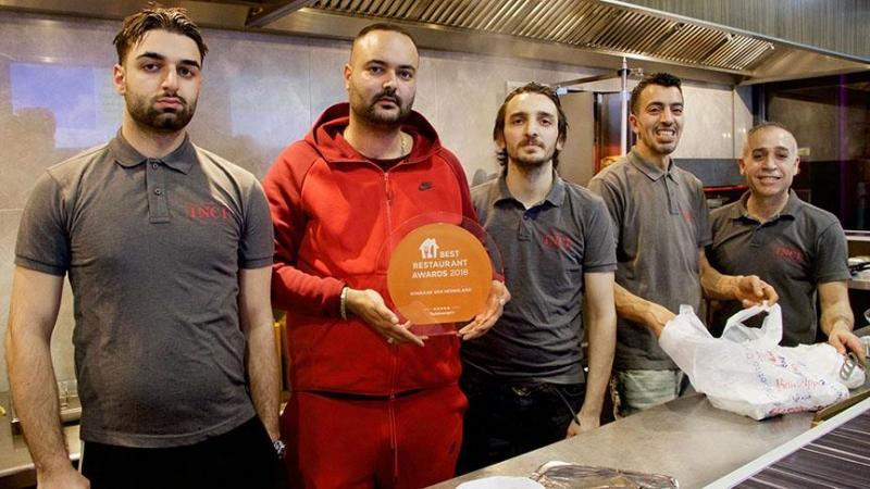 Hollanda'da Türk restoranı 'Yılın En İyi Restoranı' seçildi