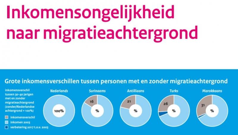 Hollanda'da yerliler ile göçmenler arasındaki Gelir Eşitsizliği hiç değişmedi