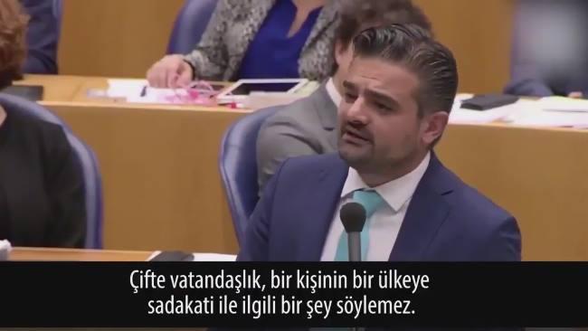 Hollanda Parlamentosunda Türk ve Faslı istemiyoruz söylemi